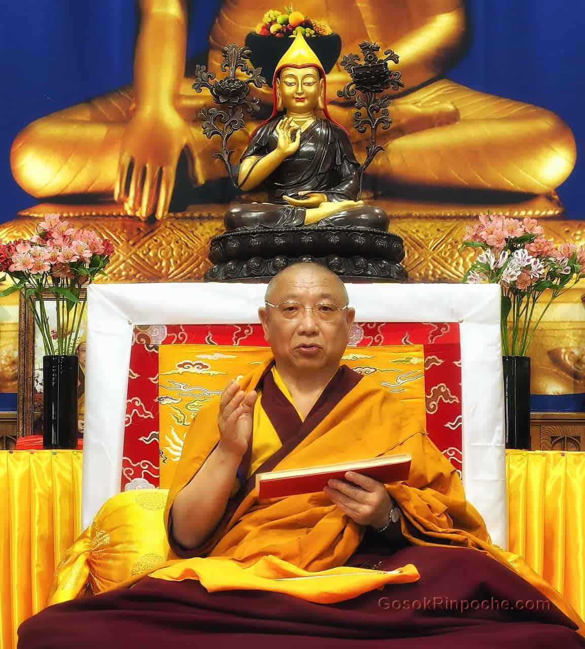 Gosok Rinpoche Toronto 2016