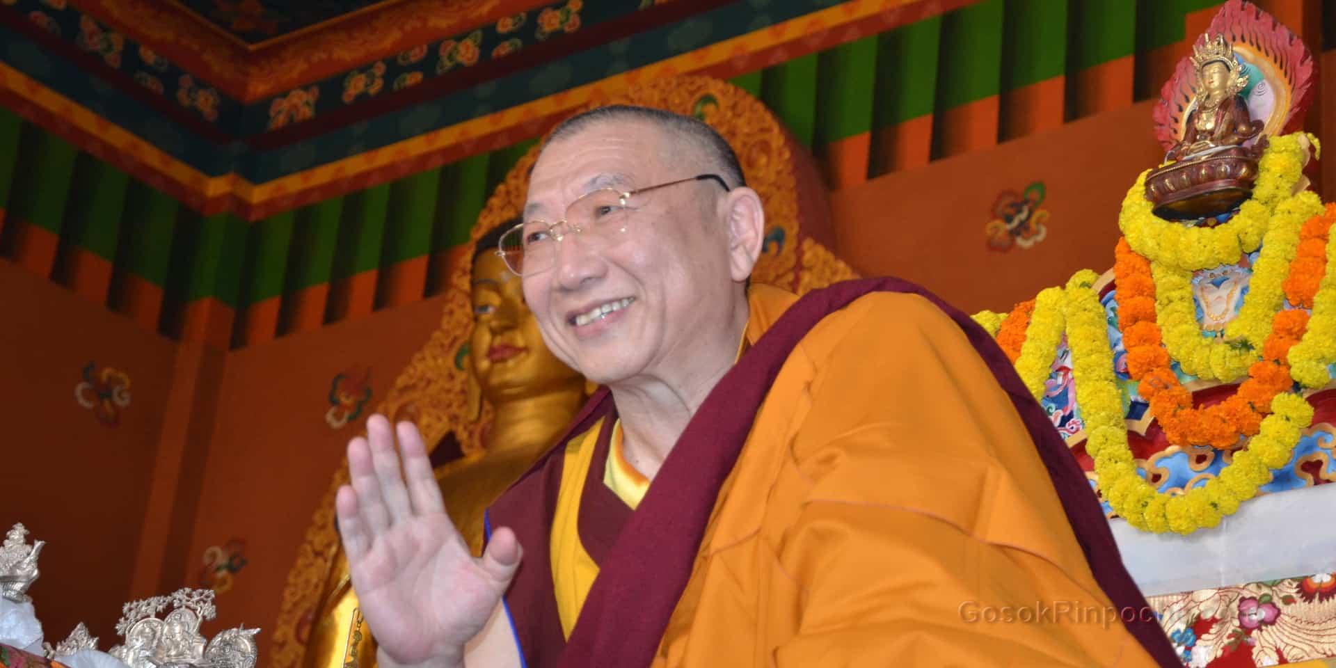 Gosok Rinpoche India 2012