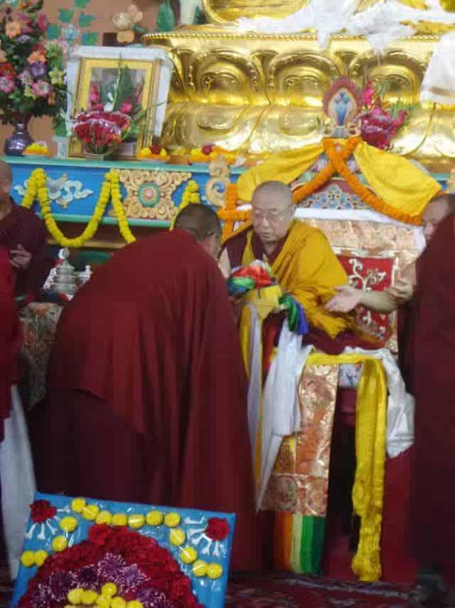 Gosok Rinpoche India 2017 longlife 4c9c516267ba9782dabcc5471f85f67