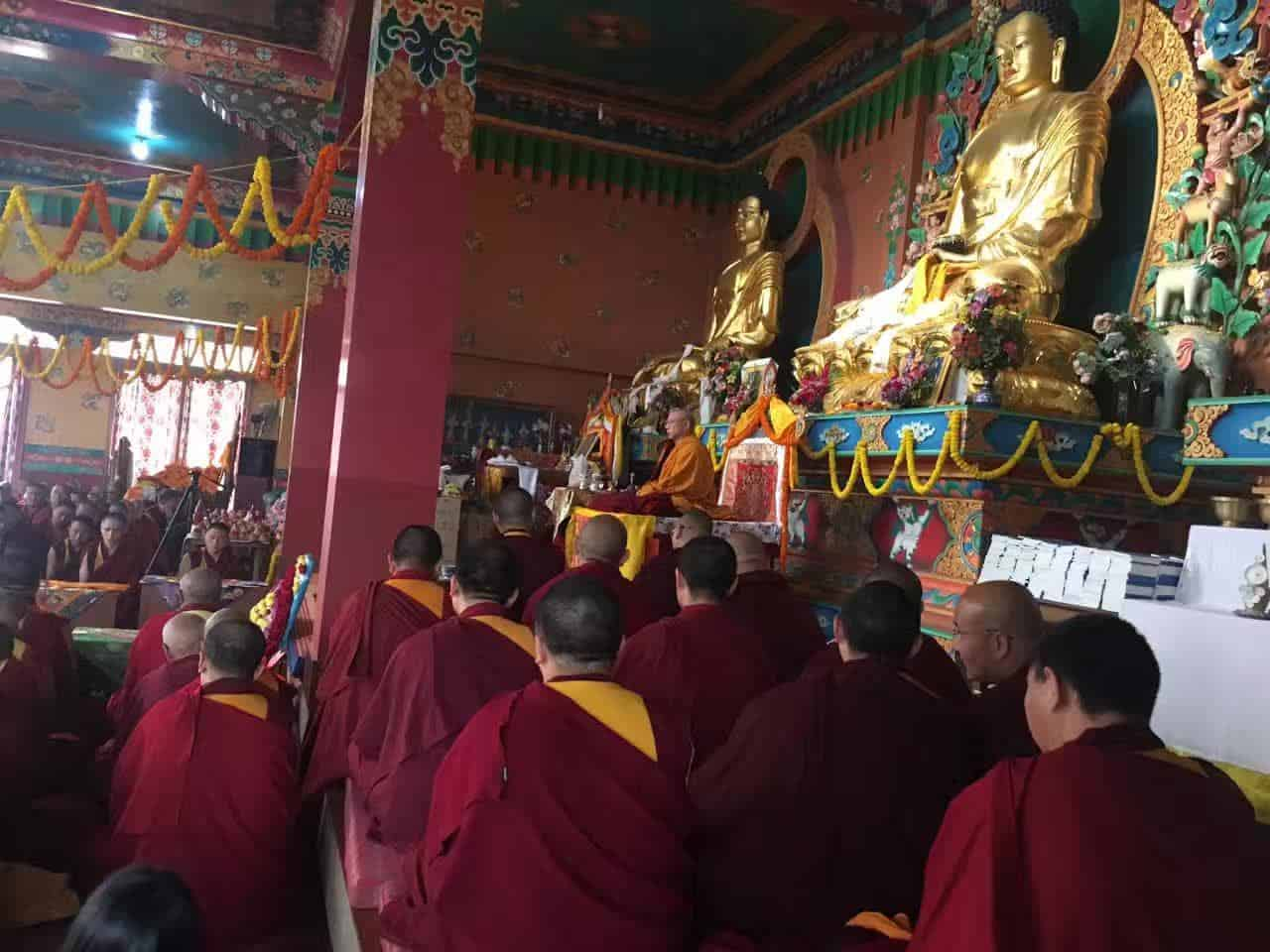 Gosok Rinpoche India 2017 longlife b40d169f99722c63c29fa84a53435e7