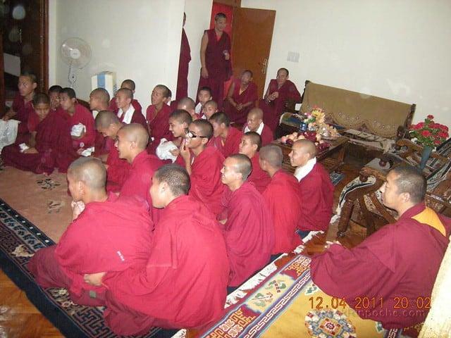 2011-04-12 Gosok Rinpoche in Gosok Ladang 5612915111_5f306f108c_z