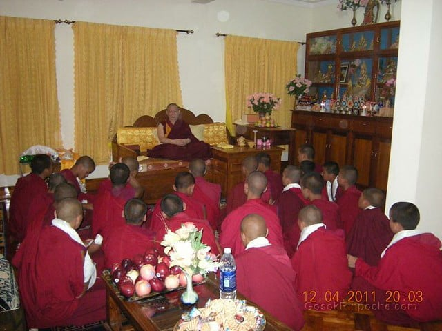 2011-04-12 Gosok Rinpoche in Gosok Ladang 5613496032_fbf9c63fb4_z