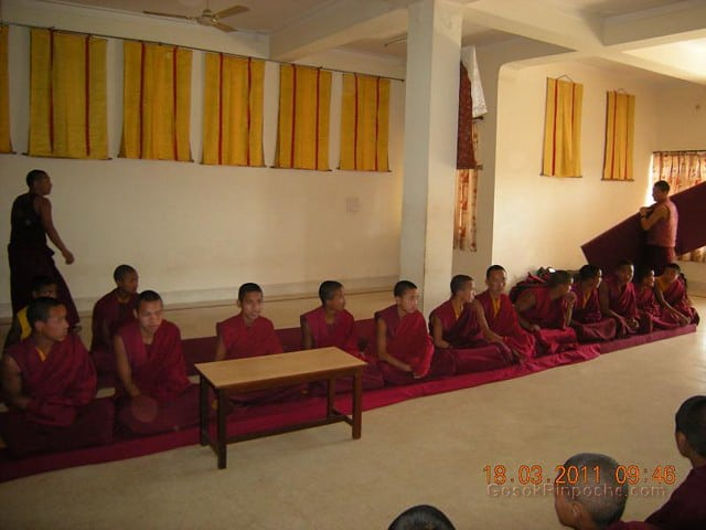 Gosok Ladang 2011-03-18 Arrival of 25 Small monks 5537309944_47b88d1b09_z