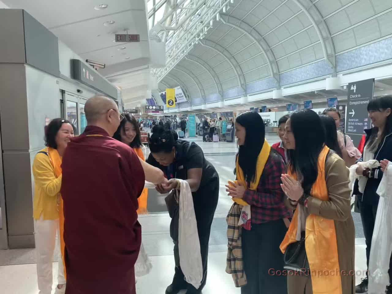 Gosok Rinpoche Leaving Toronto 20190926184030
