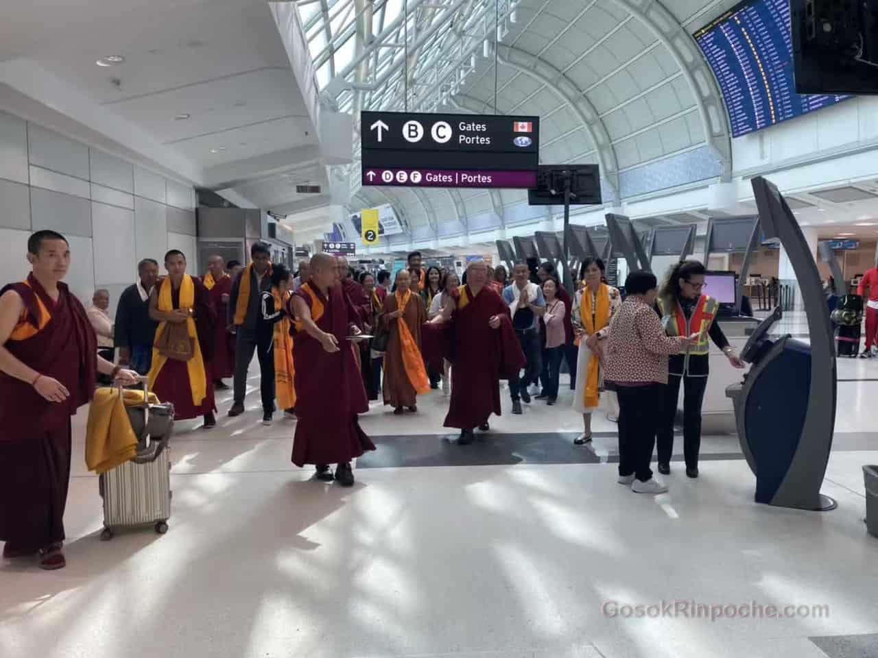 Gosok Rinpoche Leaving Toronto 20190926184229