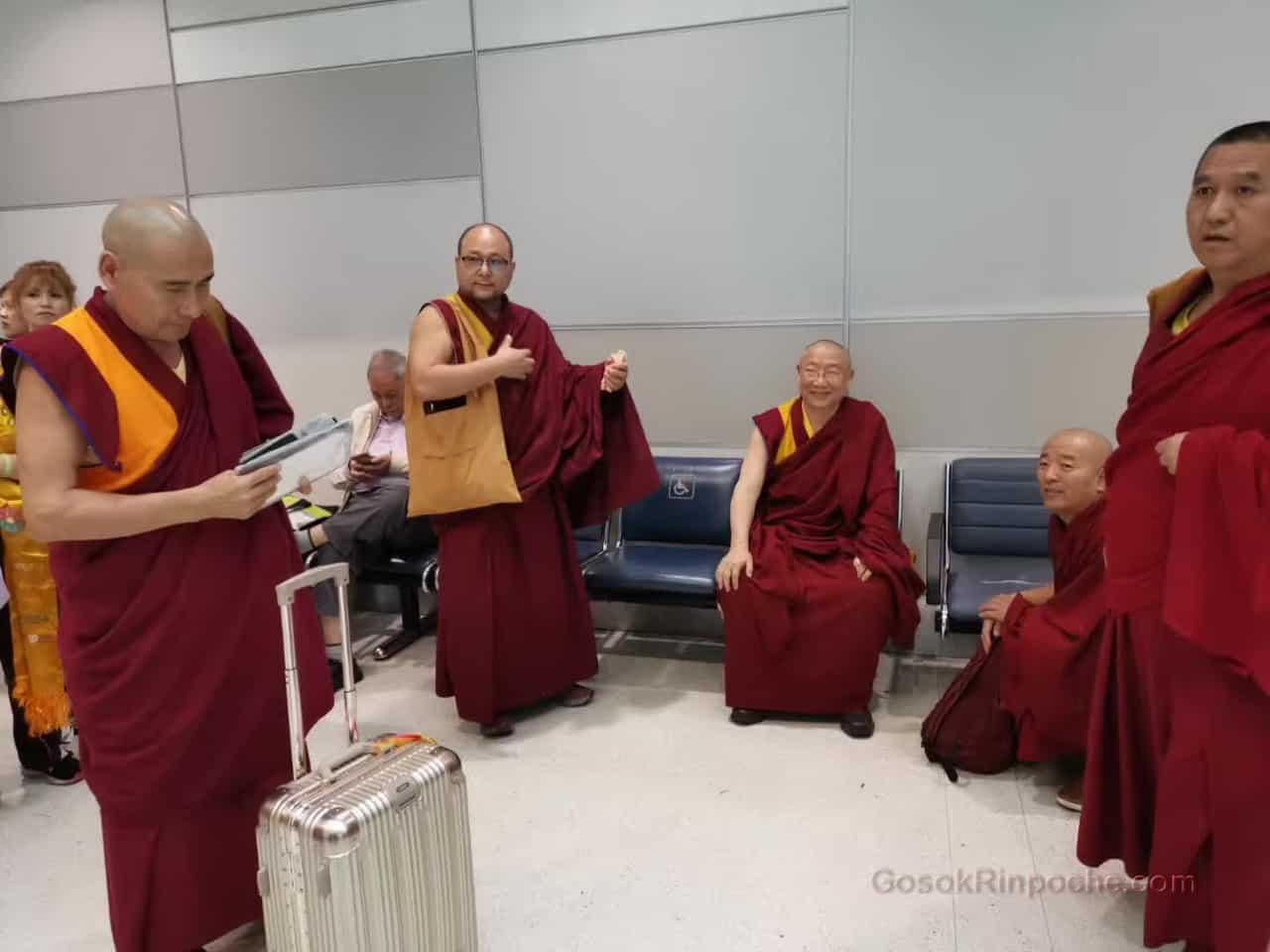 Gosok Rinpoche Leaving Toronto 20190926184300