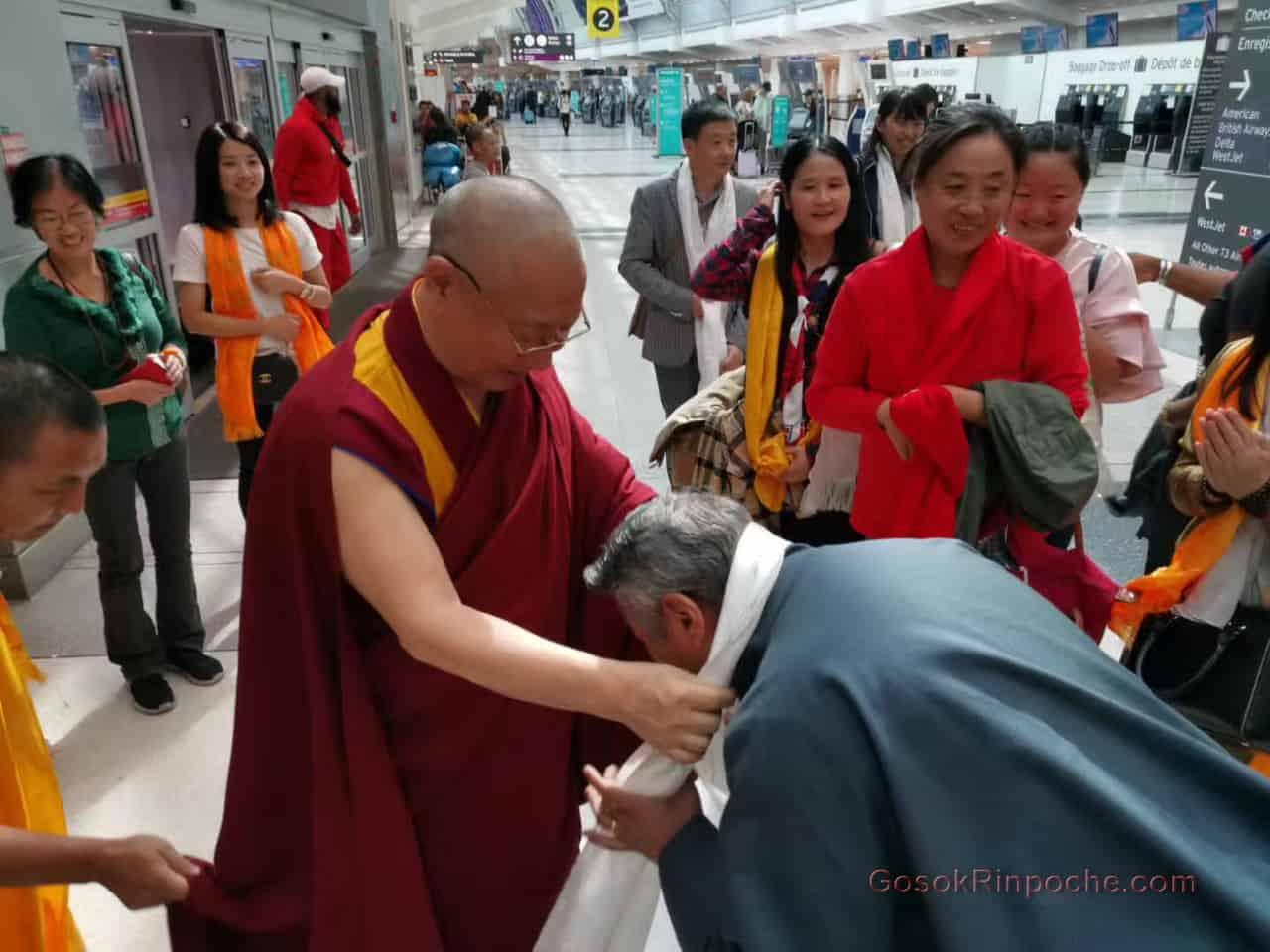 Gosok Rinpoche Leaving Toronto 20190926184655