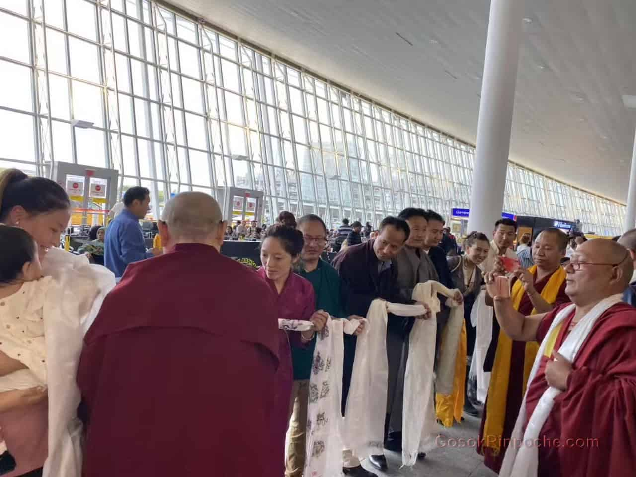Gosok Rinpoche NYC airport 20190926184821