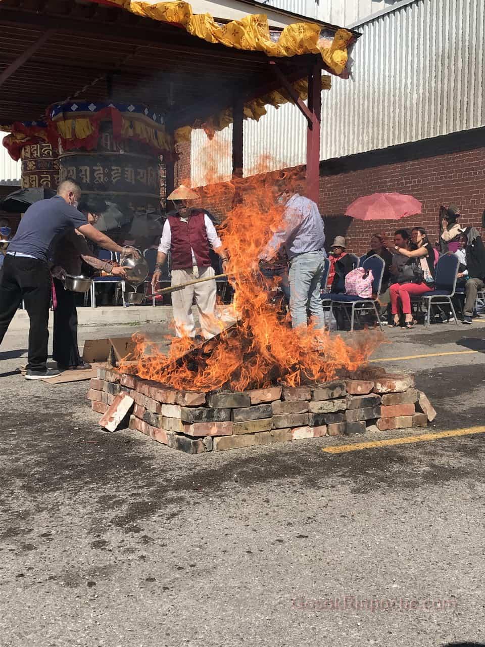 Gosok Rinpoche fire puja 20190923122503