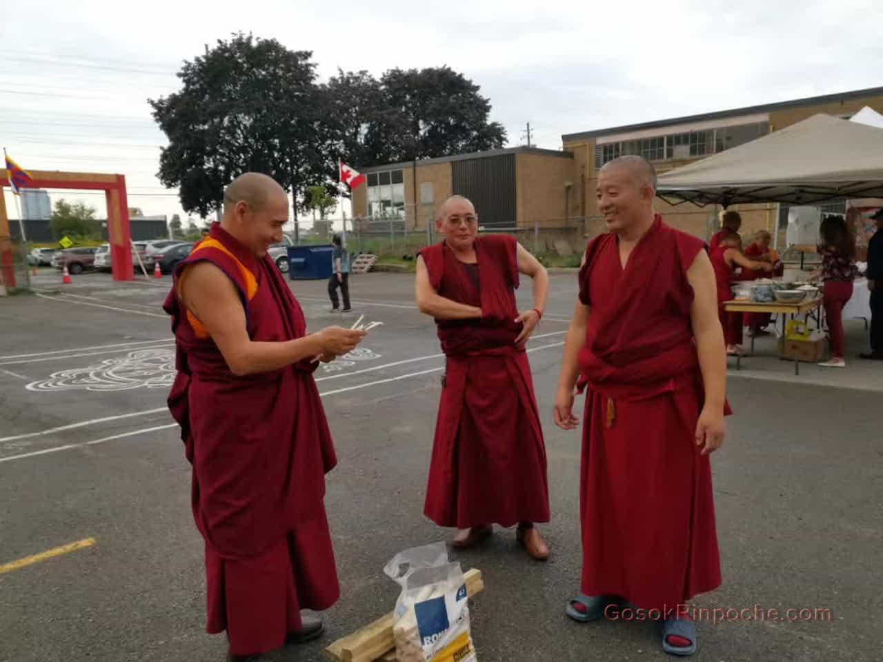 Gosok Rinpoche fire puja 20190924112158