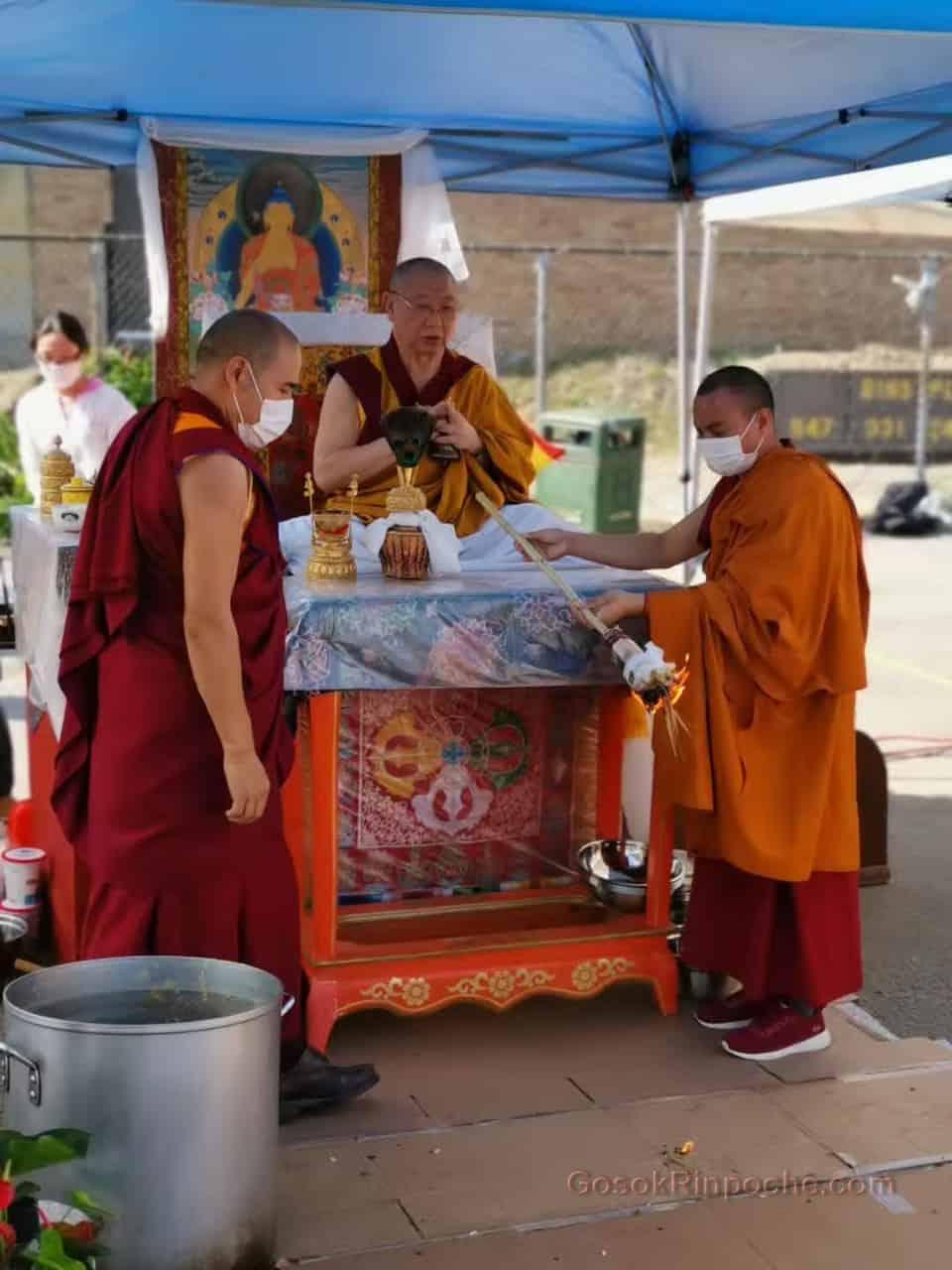 Gosok rinpoche Yamantaka Fire Puja 20190922220003