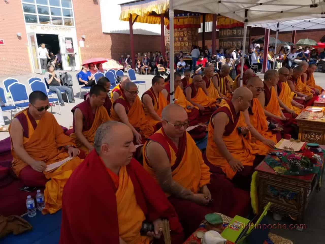 Gosok rinpoche Yamantaka Fire Puja 20190922220016