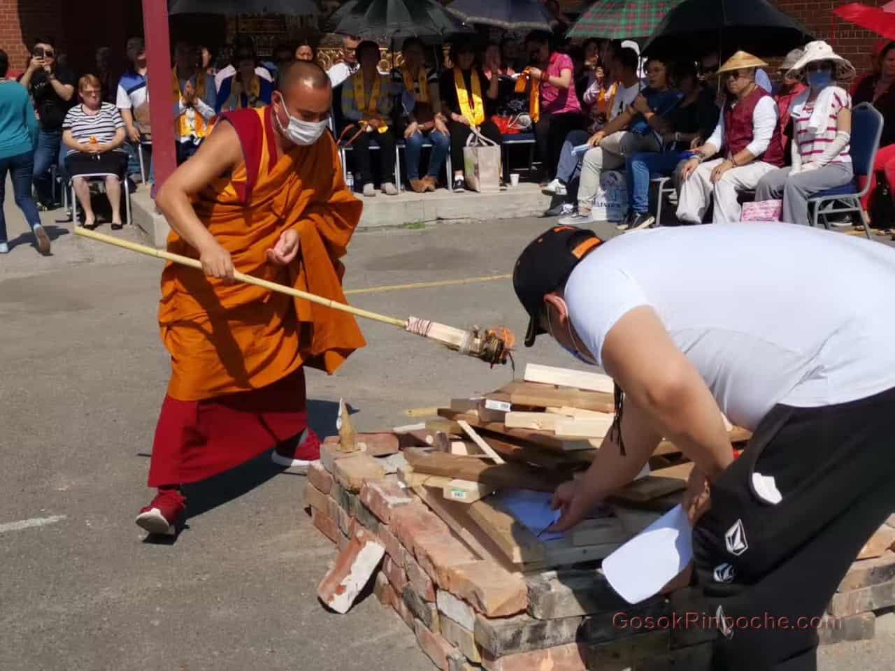 Gosok rinpoche Yamantaka Fire Puja 20190922220020